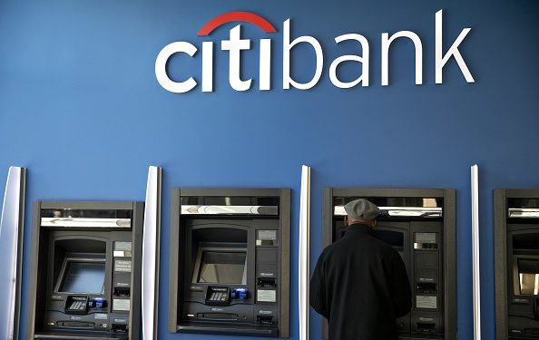 A customer uses an automated teller machine (ATM) at a Citigroup Inc. Citibank branch in Chicago, Illinois, U.S., on Saturday, Oct. 12, 2019. Citigroup is scheduled to release earnings figures on October 15. Photographer: Daniel Acker/Bloomberg via Getty Images