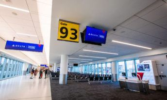 Photos from the opening of the new Delta Air Lines terminal in LaGuardia Airport in Queens, NY, on Tuesday, Oct. 29, 2019.